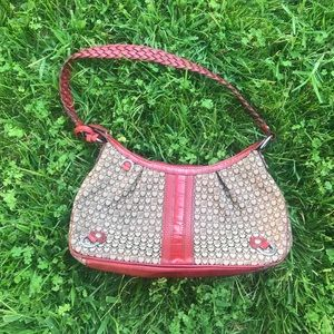red and brown brighton purse❤️